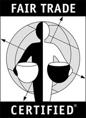 "TransFairUSA's ""Fair Trade Certified"" label"